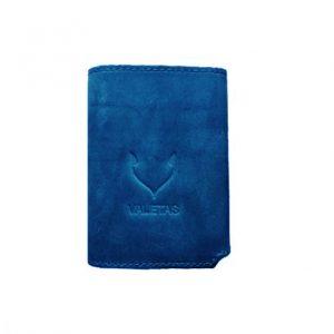 vyriška mėlyna piniginė iš priekio